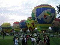 Concentración masiva de globos aerostáticos