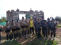 Grupo en la fortaleza