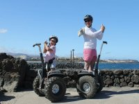 Segway en Lanzarote con la familia
