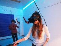 Testing virtual reality in Barcelona