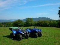 Dos quads azules