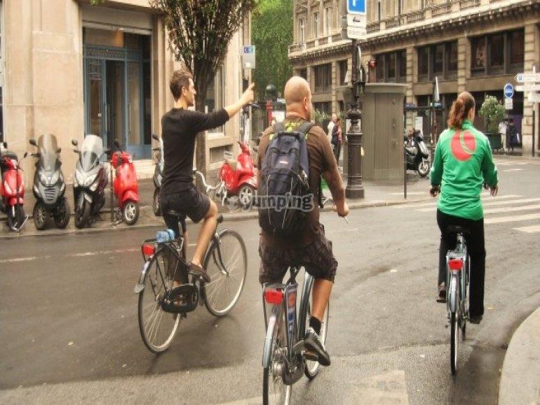 Recorridos en bici por la ciudad