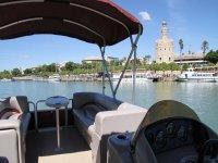 barca rio guadalquivir