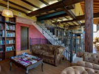 Salon del hotel en Aranda
