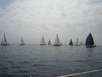 Barche a vela a Barcellona