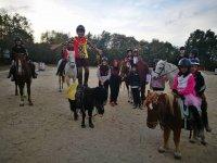 在El埃斯皮纳尔堡与马变相紫马标志
