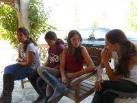 Alumnas de nuestro campamento