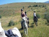 a caballo campo