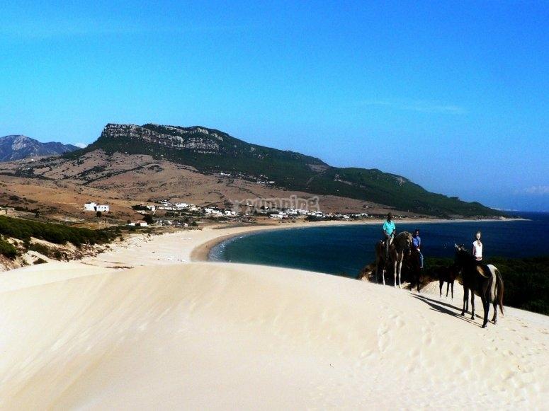 Rutas a caballo en la playa