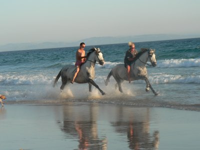 Romantic Getaway & Horse Ride, Bolonia Beach