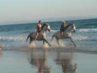 A caballo sobre el mar