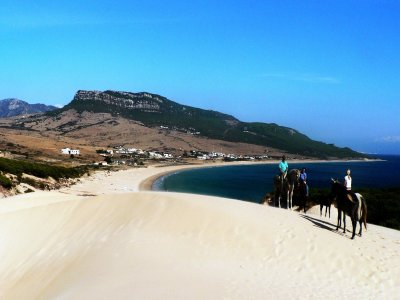 Horse riding trip Estrecho 1 day. Never