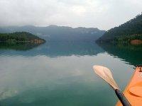Splendido paesaggio del fiume Turia
