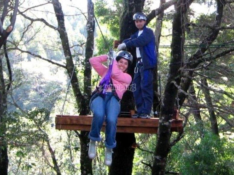 Parques de aventura para toda la familia