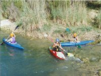Descenso en el rio