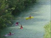 Enjoy the descents in canoe