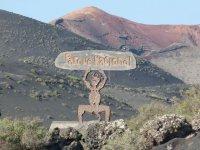 香格里拉Geria的厄尔尼诺暗黑破坏神 -  Timanfaya国家公园自然公园