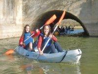 kayak dobles equipo