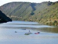 赛艇皮划艇划桨山