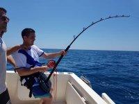 Esfuerzo durante la pesca