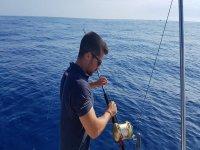 Preparación y concentración para pescar