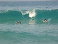 Surfisti che iniziano