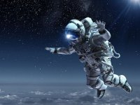 Ponte en la piel de un astronauta