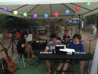 Musical tent