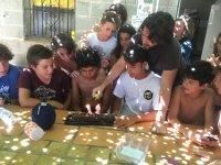 Cumpleaños de un alumno