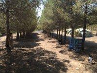 Zona de acampada propia