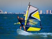 Windsurf en el mar Menor