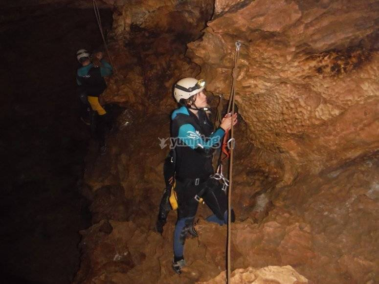 Caving Olcades Adventure