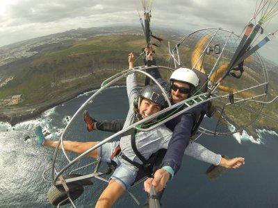 Aventura en Canarias Paramotor