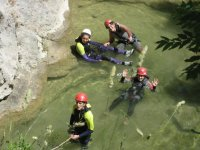 Exits to do canyoning