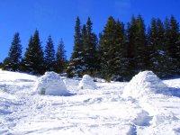 dormir iglu valle de tena formigal huesca pirineos