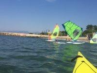 Tecnicas perfeccionadas de windsurf