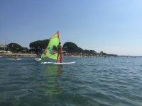 Campa de windsurf