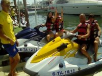 Route on Jet ski in pairs