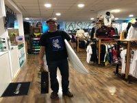 Cargado de articulos para surfear