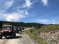 Buggies en ruta por el camino