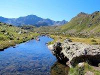 Tristaina lakes Andorra