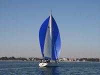帆船的大帆