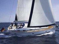 Navegando con el viento en un velero