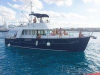Come una famiglia a bordo della barca