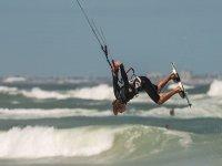 Kitesurf saltos