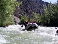 Rafting descent