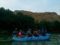 iniciamos la ruta en rafting