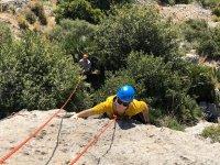 Climbing exit