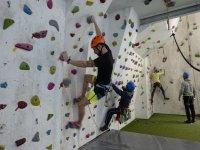 Indoor climbing course