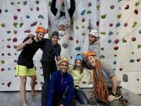 Our climbing students